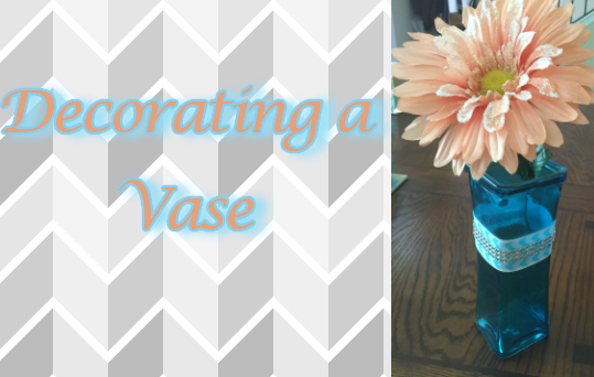 Diy Vase decoration for an Event or as a Gift