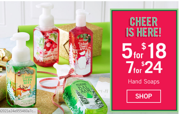 Bath & Body Works Free Item (with $10 purchase) starting today