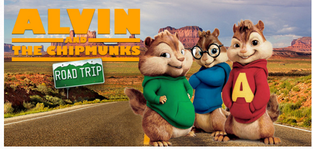 Alvin & the Chipmunks Road Trip Free Passes (Las Vegas, NV)