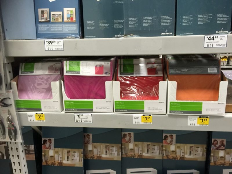 Lowes possible fabric bin deal (as low as $1.54)