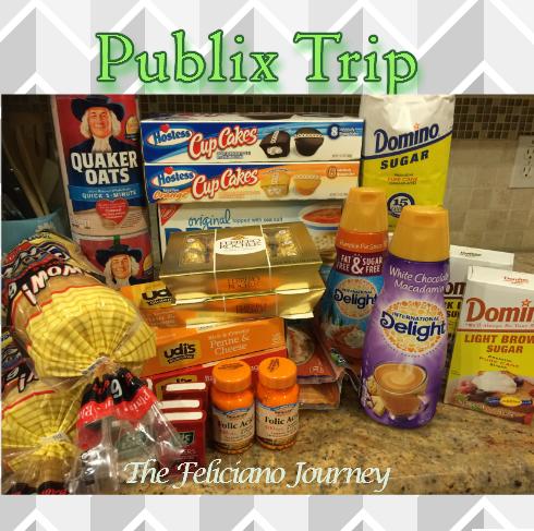 Publix Shopping Trip 11/14/15 – OOP $16.59