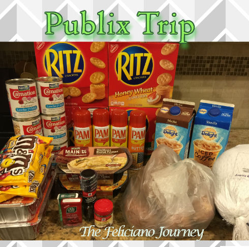 Publix Shopping Trip 11/19/15 – OOP $23.93