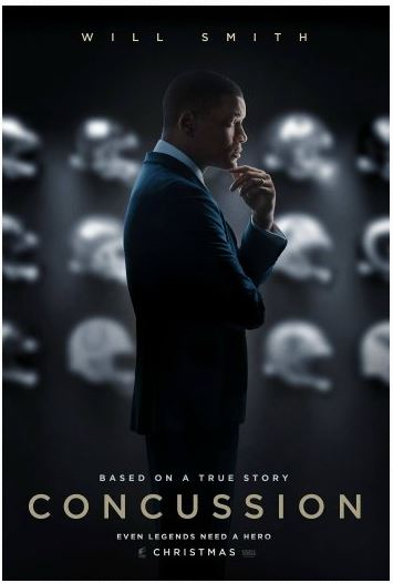 Concussion shown yesterday at most cities – my simple review