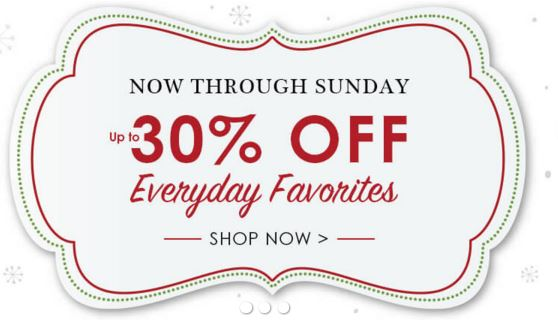 Kirkland sale 30% off everyday favorites & additional 15% off online orders