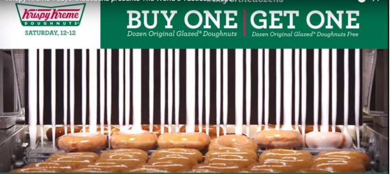 Krispy Kreme Day of the Dozens (BOGO) 12/12/15