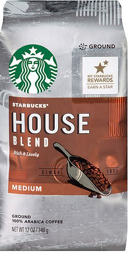 Target Starbucks House or French Coffee as low as $1.90 each