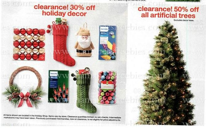 Target Christmas decoration deals & Coupon (starting 12/20)