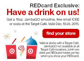 Target RedCard Free Drinks (ends today)