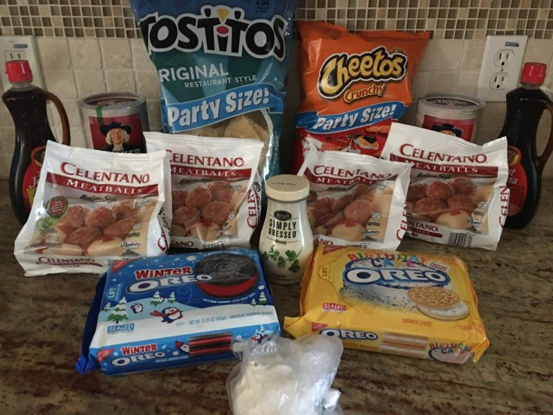 Publix Shopping Trip 1/18/16 – Amount Paid $14.58