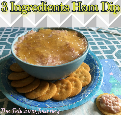 3 Ingredients Ham Dip