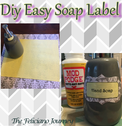 Diy Easy Soap Label