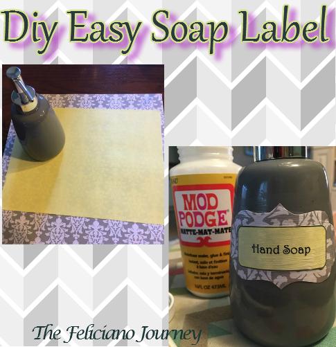 Diy Easy Soap Label