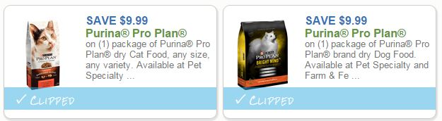 Purina Pro Plan High Coupon & you can get as low $1.99