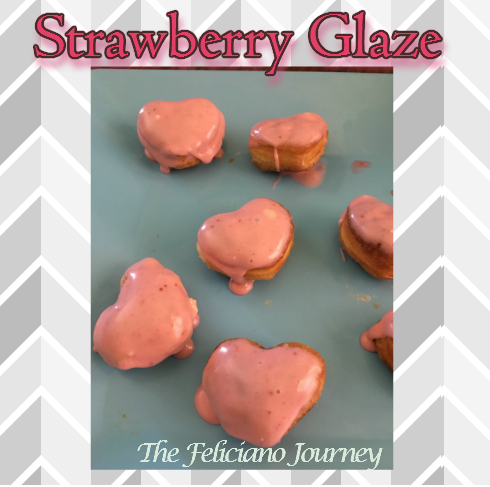 2 ingredients Strawberry Glaze
