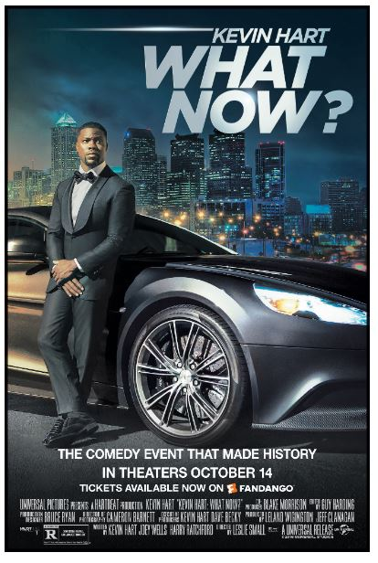 Tampa Enter sweepstakes to see Kevin Hart, What Now? on 10/11