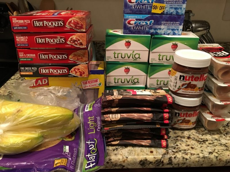Publix Shopping Trip 1/6/17 – $57.72 with a $50 GC