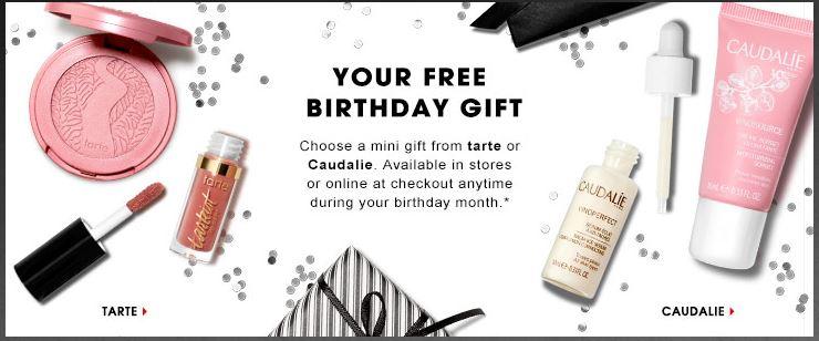 Sephora 2017 Birthday Gift