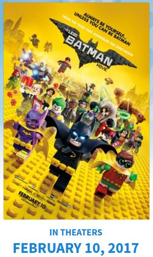 New Tickets to see FREE (The Lego Batman) Tampa 2/4