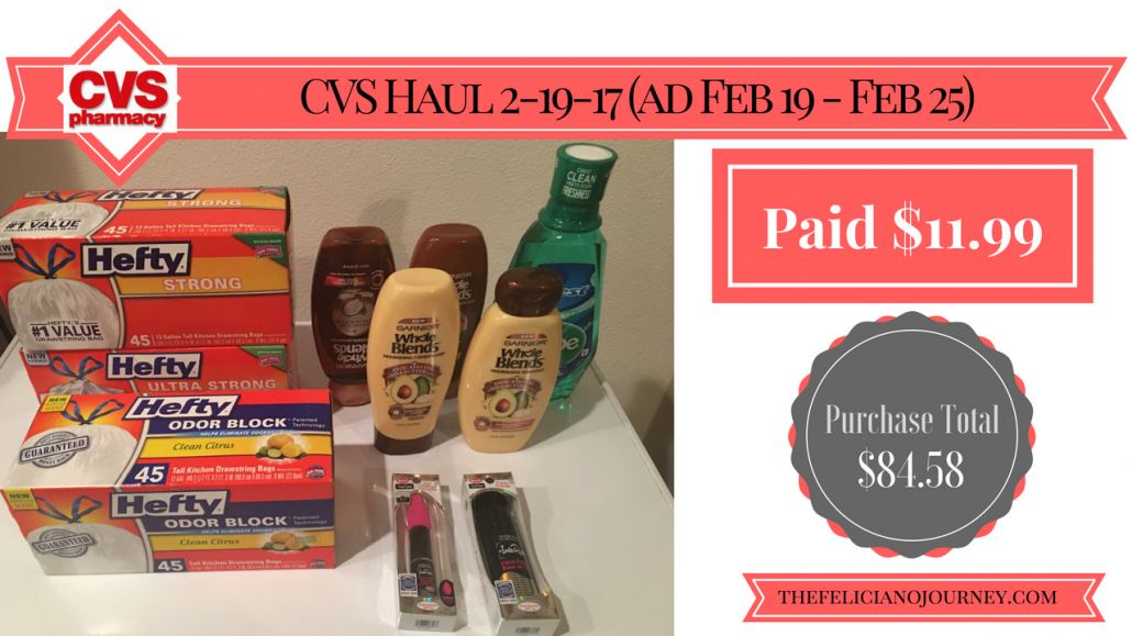 CVS Haul 2-19-17 weekly ad 2/19/17 up to 2/25/17