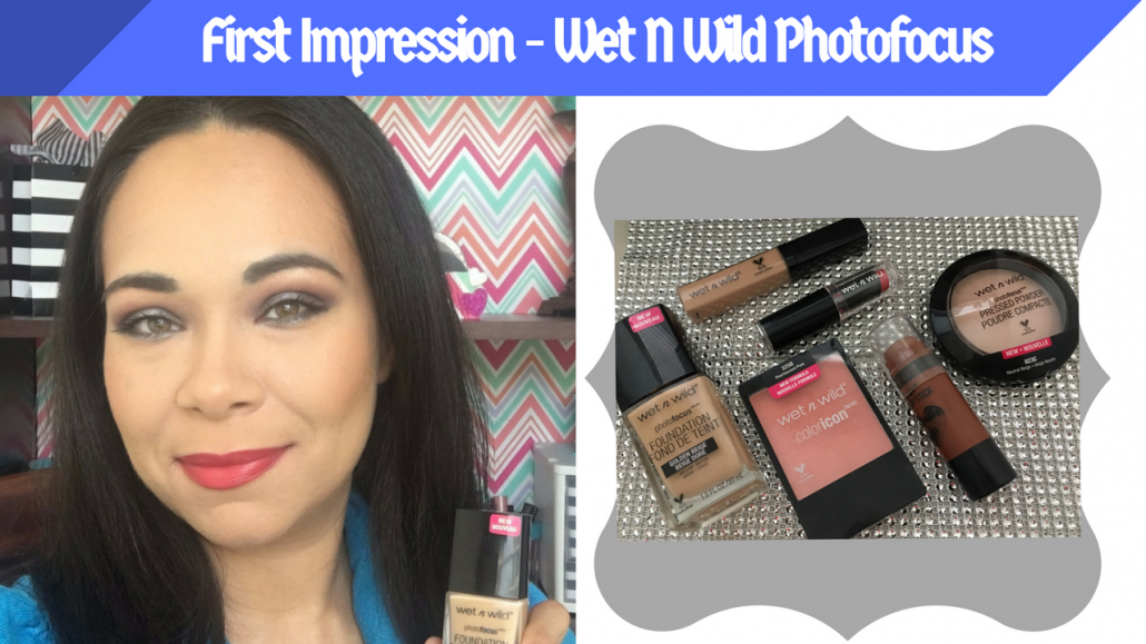 First Impression: Wet N Wild Photo focus Demo and Review on Oily/Acne Skin