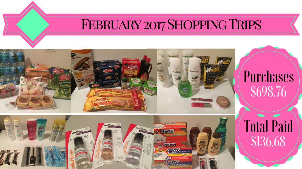 February 2017 Shopping Trips