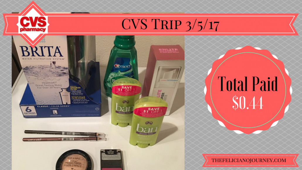 CVS Haul 3/5/17 all for $0.44 (ad 3/5/17 – 3/11/17)
