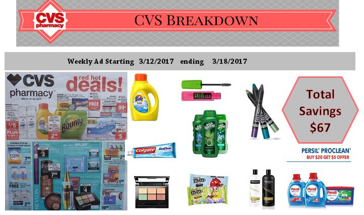 CVS best upcoming deal 3/12/17 up to 3/18/17
