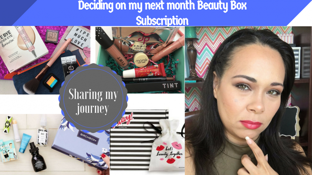 Beauty Box Sneak Preview for the month of April