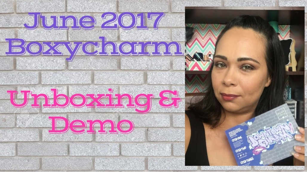 Boxycharm June 2017