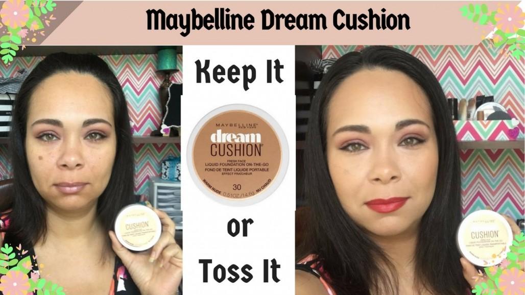First impression: Maybelline Dream Cushion Liquid Foundation   Jazz Journey