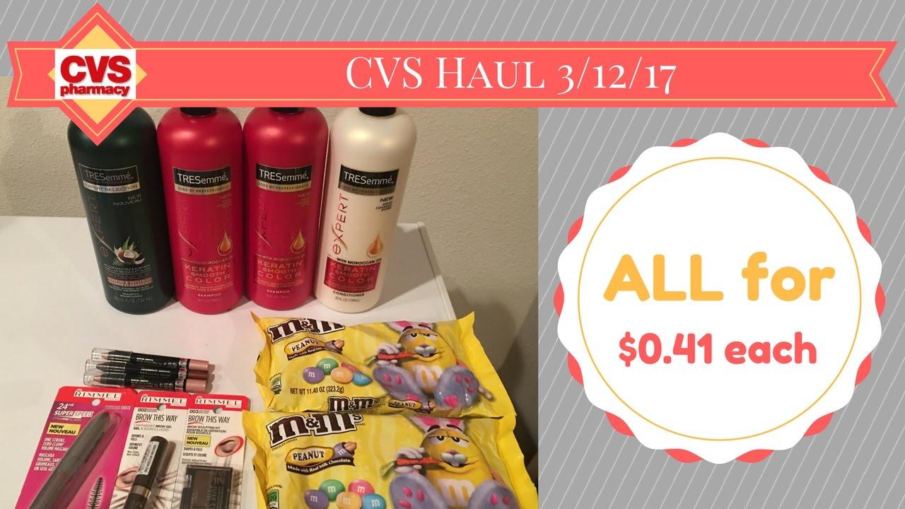 CVS Haul 3/12/17 (ad 3/12/17 – 3/18/17)