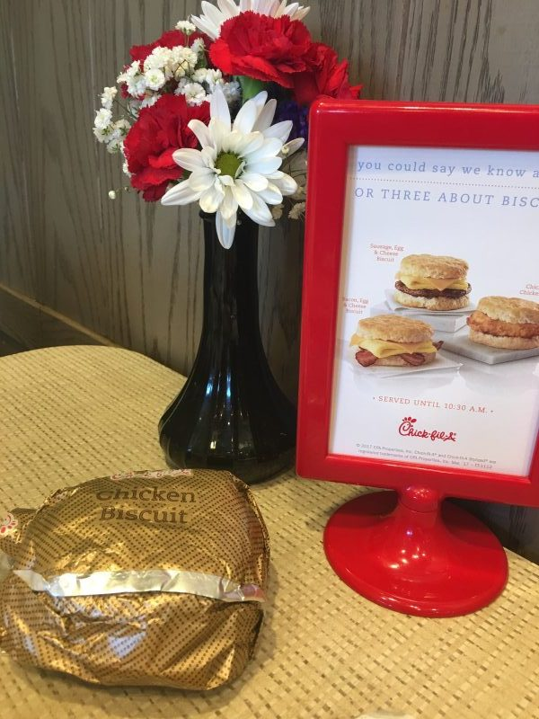 Chick Fil A Free Items in APP