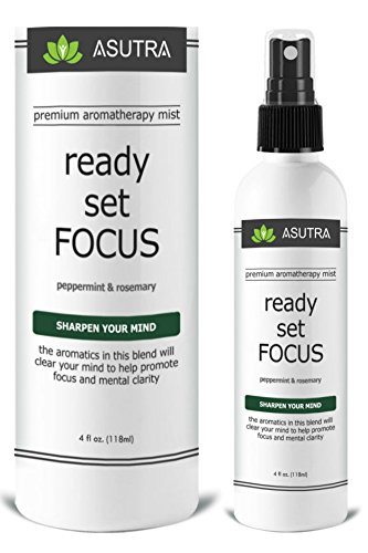 "Premium Aromatherapy Mist – ""READY, SET, FOCUS"" – Improve Mental Clari…"