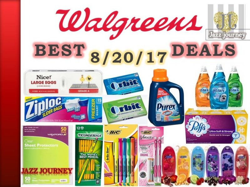 Walgreens Upcoming Deals 8/20/17 – 8/26/17