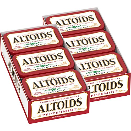 Altoids Peppermint Mints, 1.76 ounce (12 Packs)