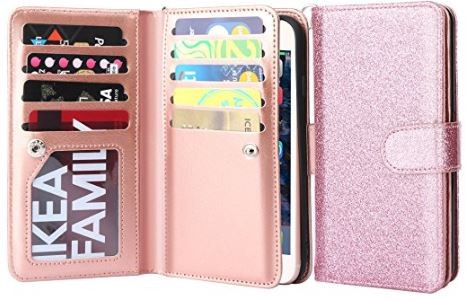 Amazon: iphone 7 Wallet Case (as low as $1.80)