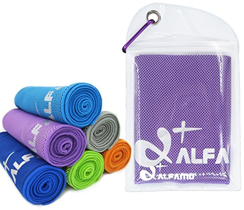 Max Full Body Recovery Cooling Towel – Extra Large, Ultra Soft Breathable Beach Towel – Ke…