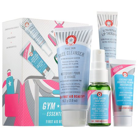 First Aid Beauty Hello FAB Gym Bag Essen…