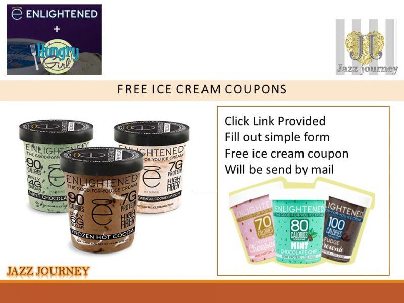 Enlightened FREE Ice Cream Coupon