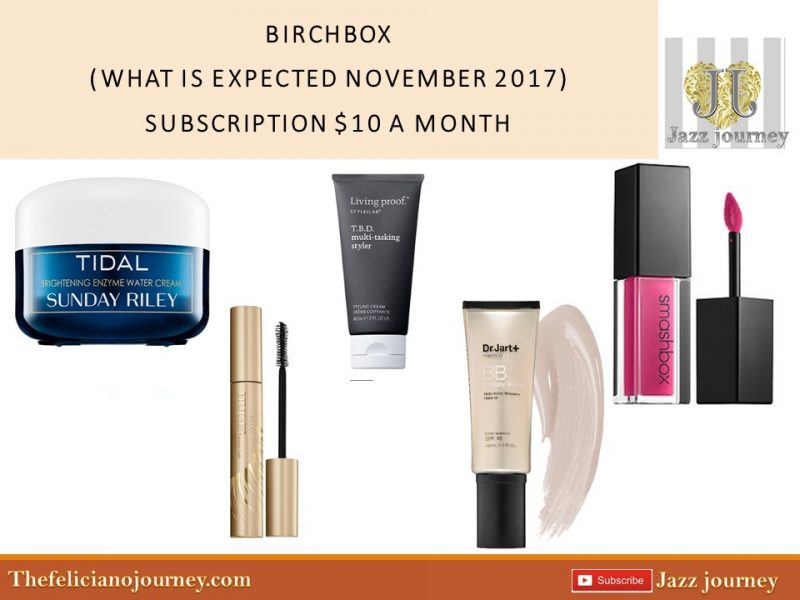 Birchbox: What can we expect in November 2017 Box