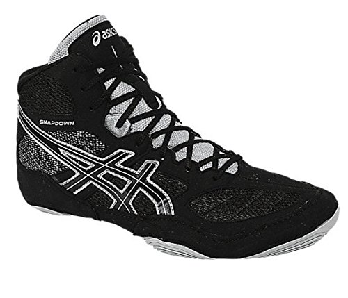ASICS Men's Snapdown Wrestling Shoe, Bla…