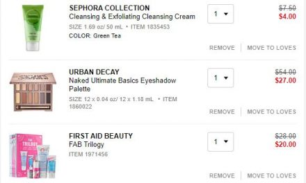 Sephora: First Aid FAB & Urban Decay Palette (all for $31) ends today