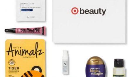 Target Beauty Box January 2018