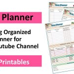 2018 Note Planner FREE Printable (Post Planner)