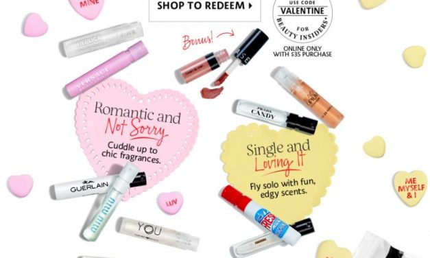 Sephora: FREE Fragrance Sample Set & Trial-Size Lip Stain (after $35 purchase)