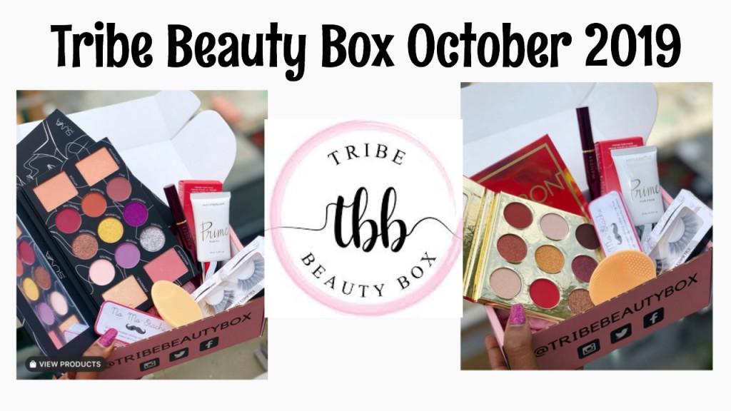 Tribe Beauty Box October 2019 (Full Spoiler 2 Variation Boxes)