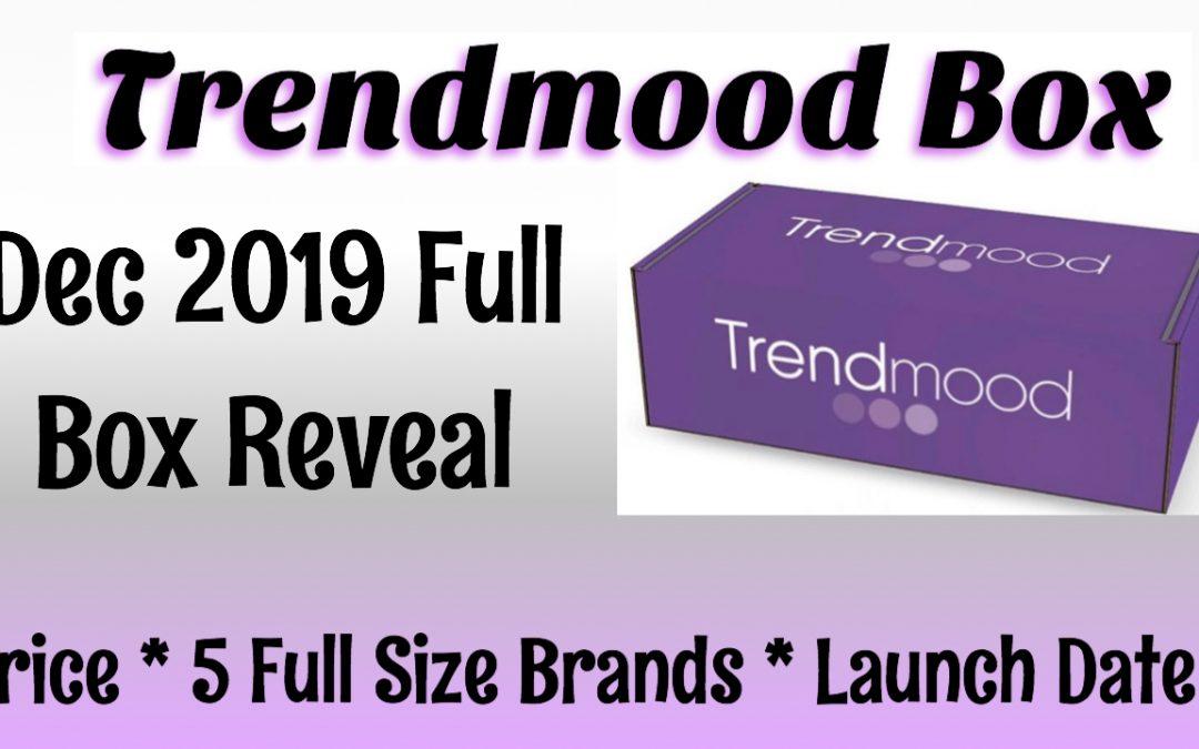 Trendmood Box December 2019 (Full Box Reveal)