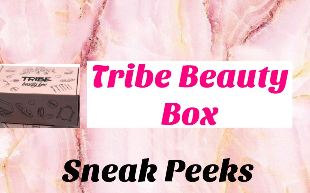 Tribe Beauty Box October 2020 (#1 – #2 Sneak Peeks)