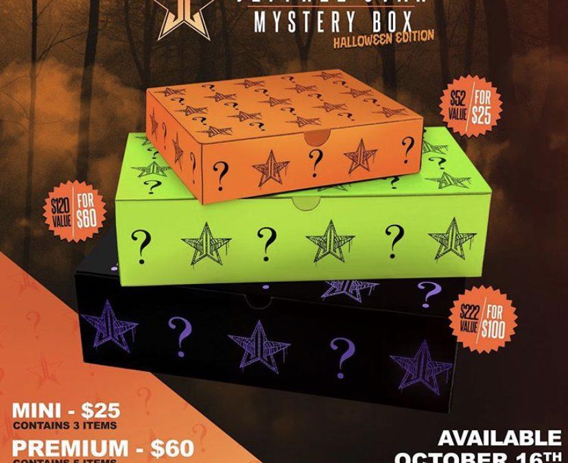 Jeffree Star Halloween Mystery Box 2020 & The Velvet Trap Lipstick (release date)