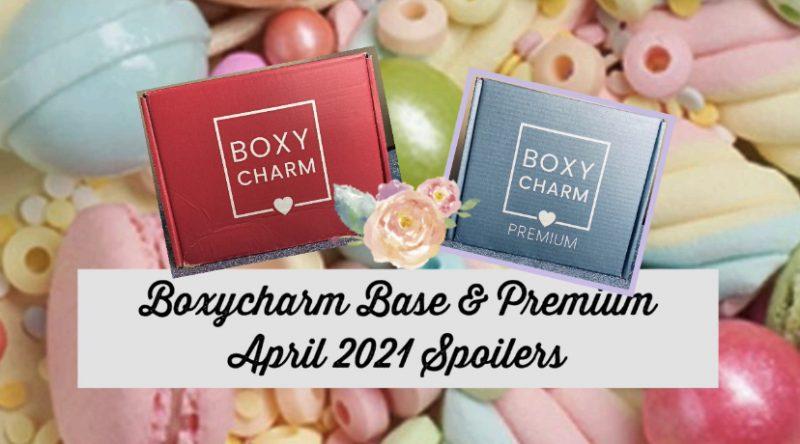 Boxycharm Base & Premium April 2021 Spoilers
